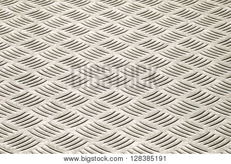 high contrast steel panel optical illusion abstract