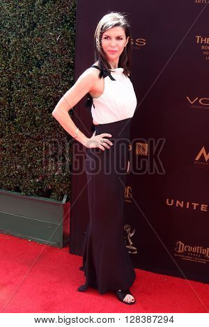 LOS ANGELES - MAY 1:  Finola Hughes at the 43rd Daytime Emmy Awards at the Westin Bonaventure Hotel  on May 1, 2016 in Los Angeles, CA