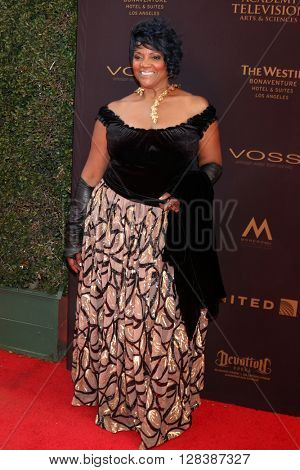 LOS ANGELES - MAY 1:  Anna Maria Horsford at the 43rd Daytime Emmy Awards at the Westin Bonaventure Hotel  on May 1, 2016 in Los Angeles, CA