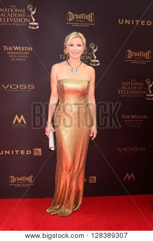 LOS ANGELES - MAY 1:  Katherine Kelly Lang at the 43rd Daytime Emmy Awards at the Westin Bonaventure Hotel  on May 1, 2016 in Los Angeles, CA