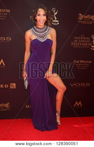 LOS ANGELES - MAY 1:  Christel Khalil at the 43rd Daytime Emmy Awards at the Westin Bonaventure Hotel  on May 1, 2016 in Los Angeles, CA