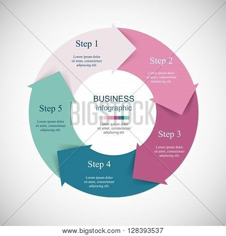 Vector Infographics Template
