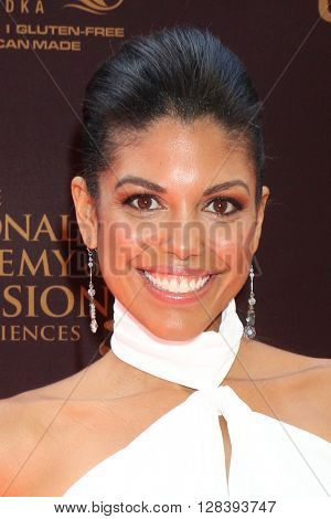 LOS ANGELES - MAY 1:  Karla Mosley at the 43rd Daytime Emmy Awards at the Westin Bonaventure Hotel  on May 1, 2016 in Los Angeles, CA