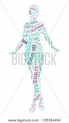 Sexy Women Word Cloud Concept 2