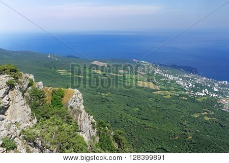 Mount Ai-Petri Crimea / hiking in summer