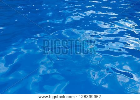 bright summer photo blue water background texture