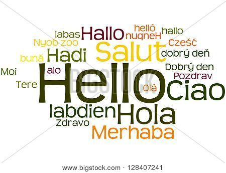 Hello, In Different Languages 3