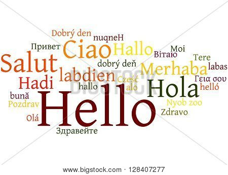 Hello, In Different Languages 5