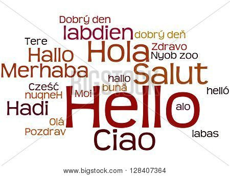 Hello, In Different Languages 9