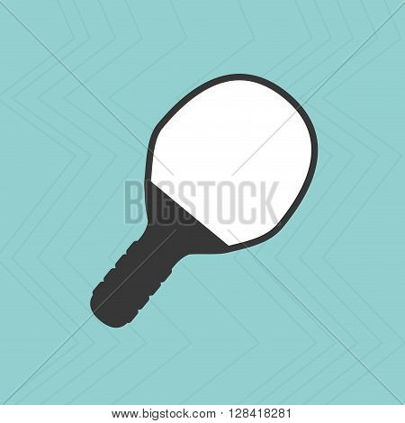 ping pong racket design, vector illustration eps10 graphic