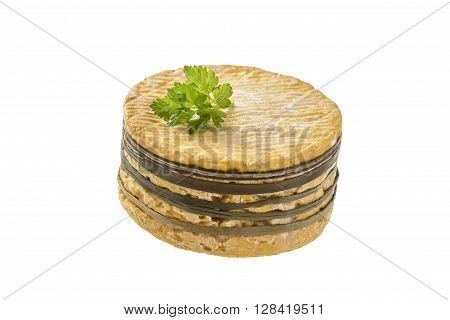 Traditional Livarot Cheese from Normandy call Colonel