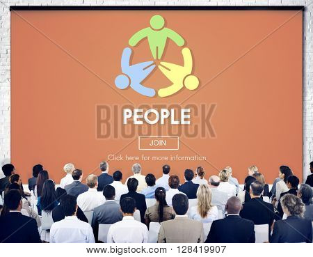 People Diversity Person Power Population Society Concept