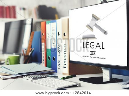 Lawyer Legal Advice Law Compliance Concept