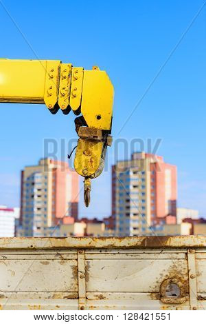 Yellow Crane Arm