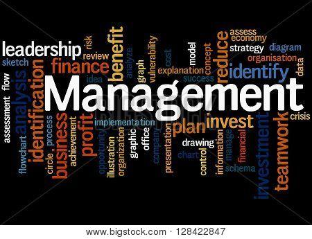 Management, Word Cloud Concept 4