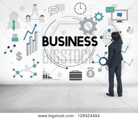 Business Company Corporation Commercial Concept