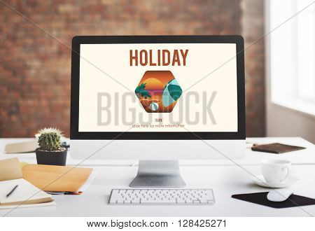 Holiday Vacation Technology Computer Concept