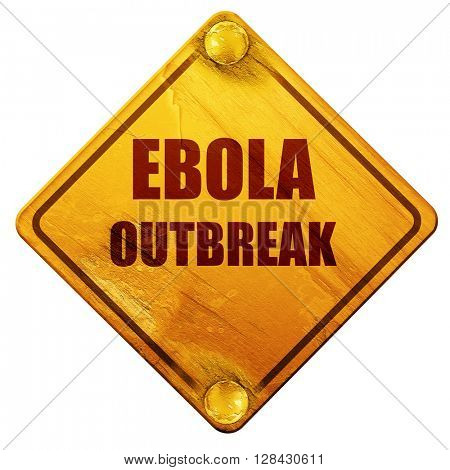 Ebola outbreak concept background, 3D rendering, isolated grunge