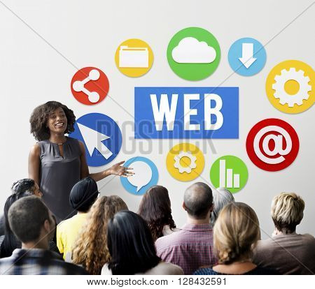 Web Browse Search Technology Concept
