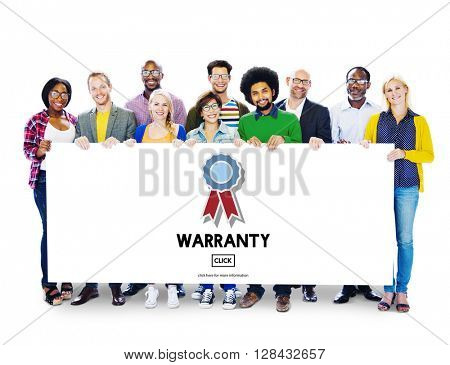 Warranty Quality Control Guarantee Satisfaction Concept