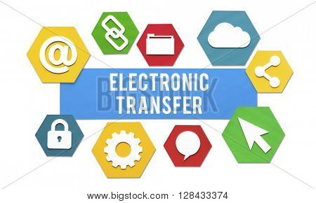 Electronic Transfer Banking Payment Online Concept