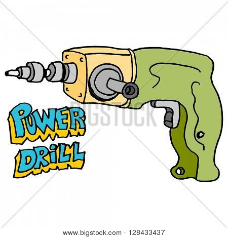 An image of a hardware power drill.