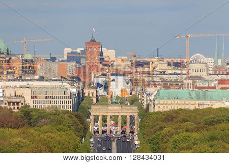 City Skyline, Berlin, Germany