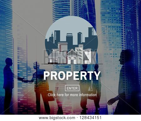 Property Business Financial Estate Investment Concept