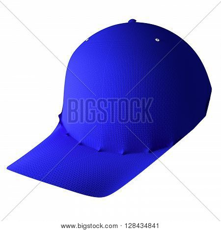Baseball Hat Isolated Over White