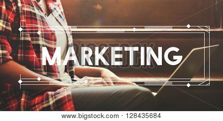 Marketing Branding Business Commercial Design Concept