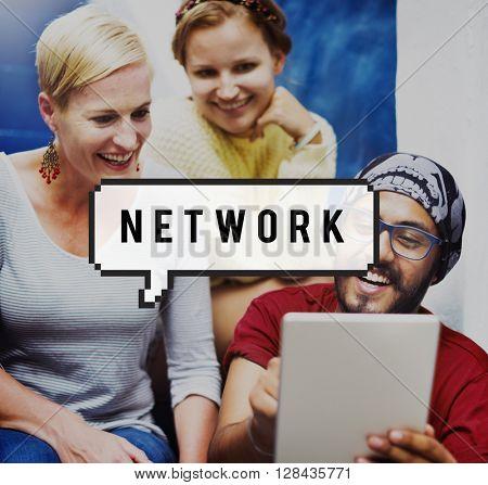 Network Computer System Domain Internet Social Concept