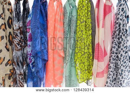 Colorful Scarfs set