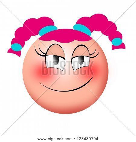 Female smiley