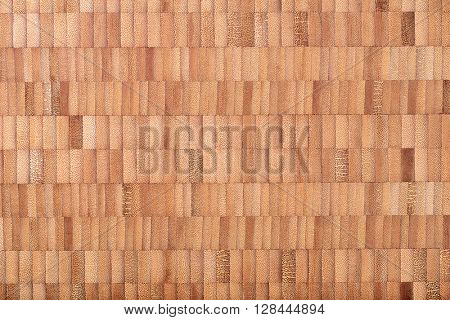 wooden background from brown bamboo elements