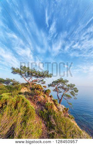 Amazing Mediterranean seascape in Turkey