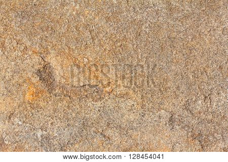 Solid surface mineral stone macro brown texture
