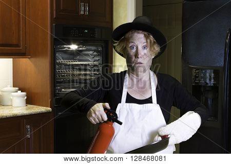 Thanksgiving Dinnner Kitchen Disaster