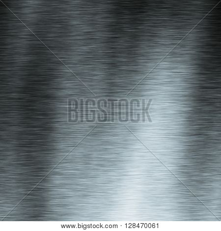 Metal brushed shiny surface for texture