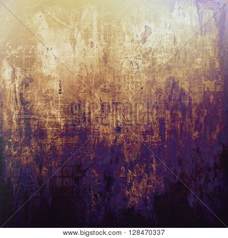 Ancient textured background or shabby backdrop. With different color patterns: yellow (beige); brown; gray; blue; purple (violet); black