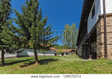 Spring in Courtyard of Temski monastery St. George, Pirot Region, Republic of Serbia