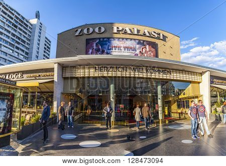People At The Premiere Cinema Zoo Palast In Berlin