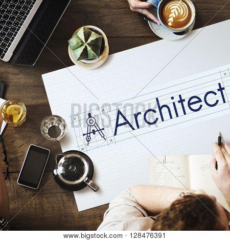 Architect Architecture Compass Construction Concept
