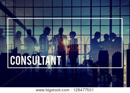 Consultant Advisor Advise Consult Consulting Concept