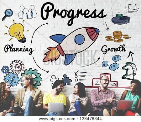 Progress Innovation Improvement Advance Growth Concept