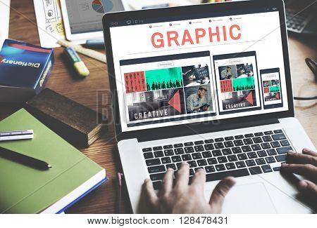 Graphic Creative Design Visual Art Concept