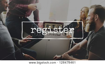 Register Apply Hiring Membership Concept