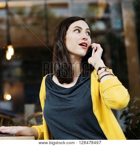 Telecommunication Technology Communication Concept