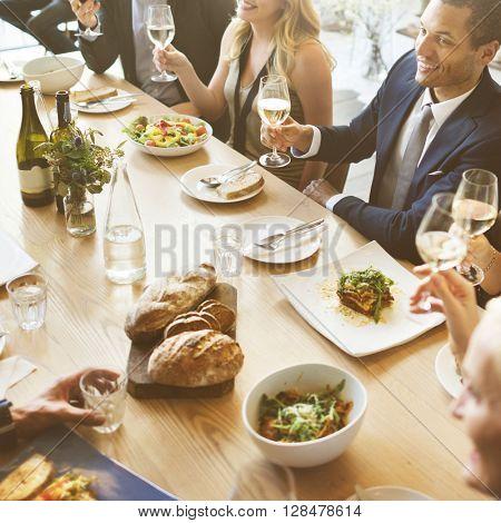Business Celebrate Cheerful Enjoyment Festive Concept