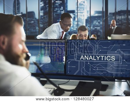 Analytics Analyze Data Analysis Information Research Concept