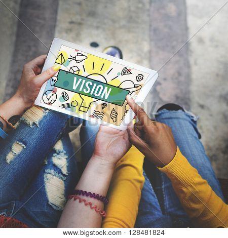 Thinking Vision Creative Imagination Ideas Concept